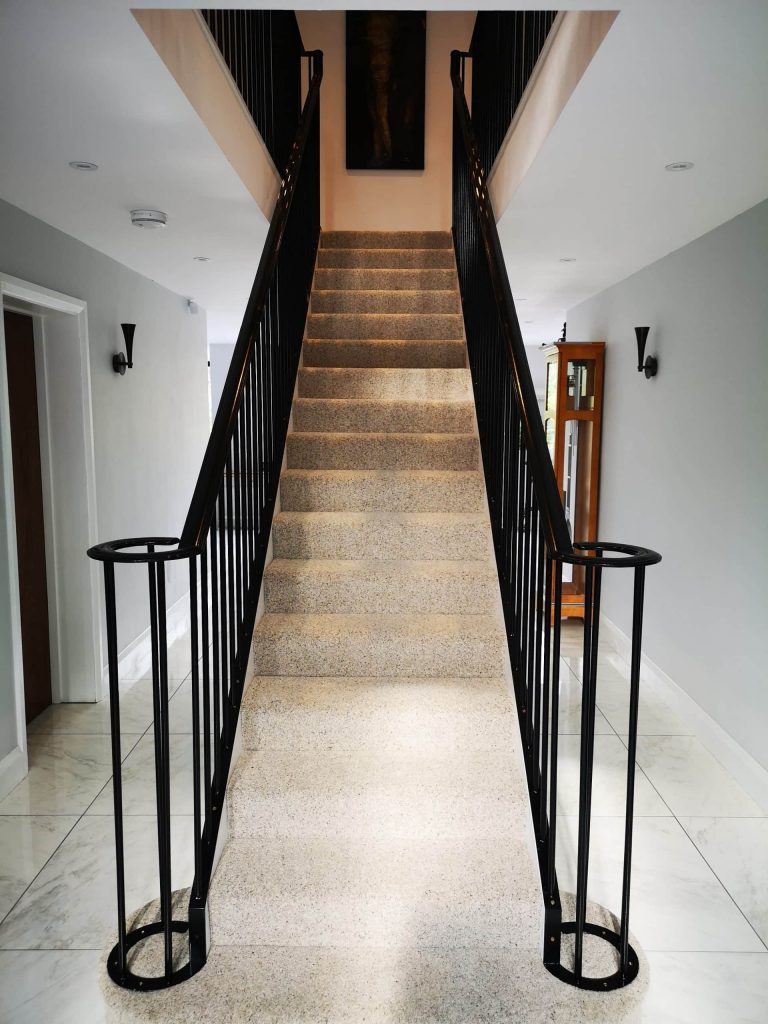 art deco themed design concept idea staircase photograph quality staircases by art metal design uk