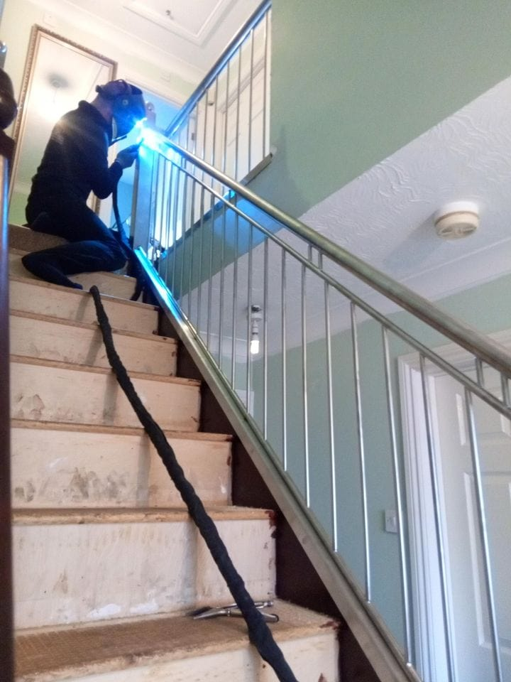 Quality Staircase renovation www.qualitystaircases.co.uk Staircase Transformation makeoverwelding