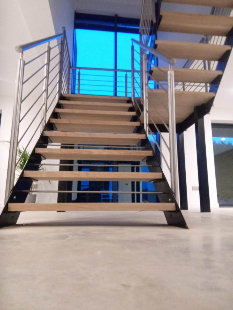 Best bespoke staircase installation installers designer Quality Staircases by Art Metal Engineering