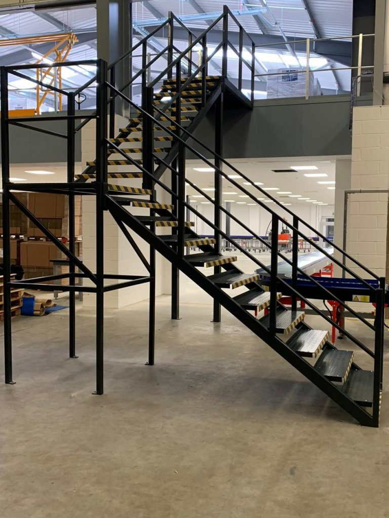 industrial factory stairs by quality staircases supplier installer bespoke fabrication